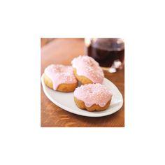 Birthday Cake Mini Doughnut ❤ liked on Polyvore