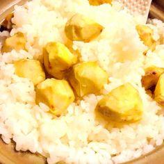 お家のお庭で採れた栗で作りました♡ - 11件のもぐもぐ - 土鍋 de 栗ご飯 by himapu