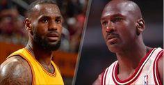 Still think LeBron James doesn't belong in the same sentence as Michael Jordan? #NBAFinals http://foxs.pt/1IGuShA