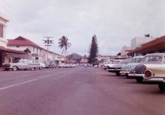 Admittedly, we only know for sure that the above photo comes from Scottsdale, specifically Fifth Avenue, and we only know for sure that the below photo dates to Those Were The Days, Scottsdale Arizona, Cool Cars, Antique Cars, 1960s, The Past, Street View, Mid Century, United States