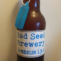All Beer, The Bad Seed, Ipa, Brewery, Drinking, Seeds, Farmhouse, Beverage, Drink