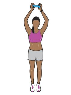 Celebrity trainer Holly Perkins designed this crunch-free workout to uncover and tone your abs. Do the routine three times a week, and you'll see results in about 12 weeks. You'll need a pair of 2-pound weights or a 2-pound soft exercise ball.