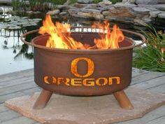 University of Oregon Collegiate Fire Pit / Grill