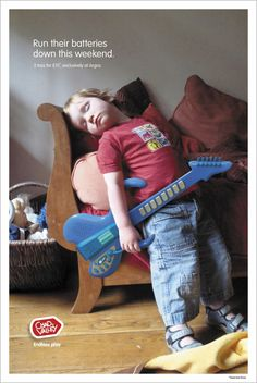 Chad Valley: Guitar   Run their batteries down this weekend.  Advertising Agency: Chi & Partners, London, UK