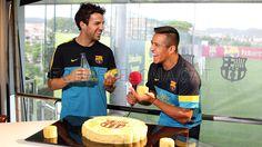 Cesc and Alexis