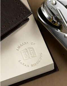 The Best Personalized Gifts for the Book Lovers in Your Life The Best Personalized Gifts for the Book Lovers in Your LifeBookish gifts are always a sure bet for the book lovers in your life, but you ca # Embossing Stamp, Precious Book, Personalized Gifts, Handmade Gifts, Book Lovers Gifts, The Book, Give It To Me, Great Gifts, Pouch