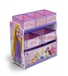 Detská komoda organizér Disney  Princess II