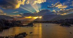 beauty sun rays 4k ultra hd wallpaper