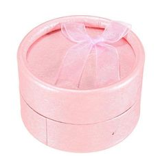 Bowknot Round Shape Ring Jewellery Box - Gchoic.com