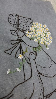 Irresistible Embroidery Patterns, Designs and Ideas. Awe Inspiring Irresistible Embroidery Patterns, Designs and Ideas. Abstract Embroidery, Embroidery Letters, Hand Embroidery Stitches, Vintage Embroidery, Embroidery Techniques, Embroidery Thread, Beaded Embroidery, Embroidery Designs, Lazy Daisy Stitch