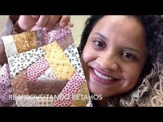 Como reaproveitar retalhos ( crazy patchwork) - YouTube