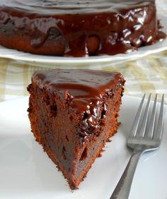 Bolo de chocolate com cenoura