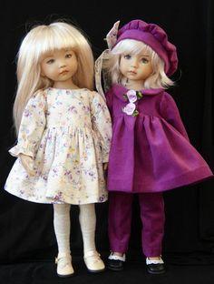 "Amethyst Autumn OOAK for Effner 13"" Little Darling~ by Glorias Garden"