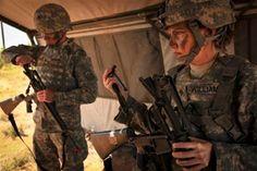 Female soldier in body armor (Photo: U.S. Army)