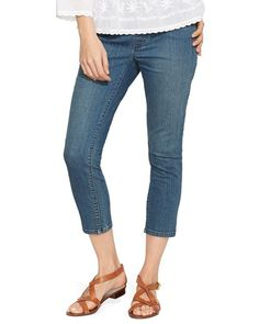 Lauren Ralph Lauren Crop Stretch Denim Leggings