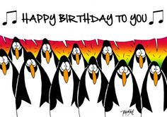 Happy Birthday (© Toon van Driel)