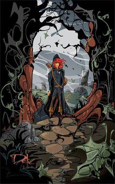 La Atalaya Nocturna: Galería de Crónica del asesino de reyes (II)