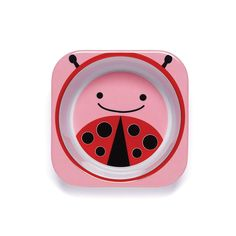 Skip Hop Zoo Bowl, Pink