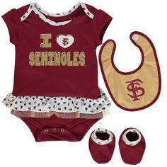6e1f49b0b Florida State Seminoles Girls Infant Team Love Bodysuit