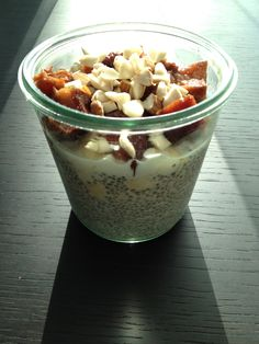 Chia seeds are one of the most beneficial things you can eat!!  Chia Seed Parfait