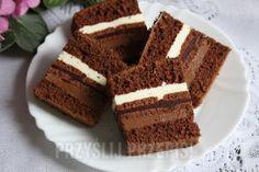 Polish Recipes, Polish Food, Sweets Cake, Russian Recipes, Food Cakes, Sugar Rush, How Sweet Eats, Chocolate Cake, Creme