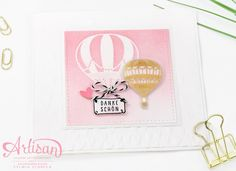 Card Stampin Up Lift me up!