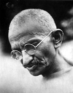 """Mohandas or Mahatma Gandhi? Mohandas is his proper name but Mahatma is an affectionate title meaning """"Great Soul"""" which was given to him out of love and the wish to honor him. Learn more about the life, wisdom, and teaching of Mohandas Gandhi and. Mahatma Gandhi, Art Of Manliness, Buddha, India Independence, Men Quotes, Gandhi Quotes, New World Order, In This World, How To Memorize Things"""