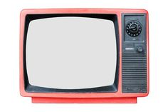 Retro old television isolated on white background Aesthetic Template, Aesthetic Stickers, Photoshop Elementos, Frame Template, Templates, Retro, Overlays Picsart, Instagram Frame, Old Tv