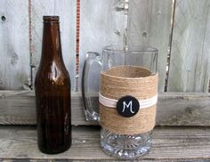 Read More About Personalized Groomsmen Gift / Groom Gift / Pint Glass / Rustic Wedding Beer Mug / Country Wedding Toasting Beer Mug / Wedding Glass
