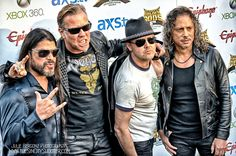 Metallica, Red Carpet Golden God Awards 2013