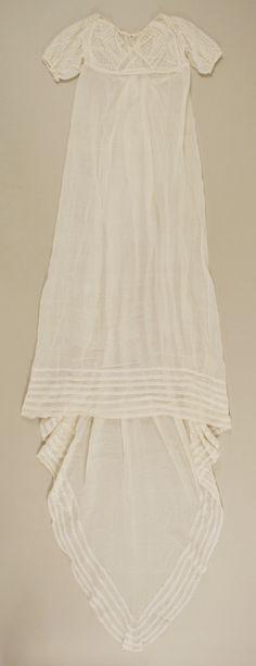 Evening dress Date: ca. 1809