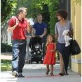 X17 Online - Celebrity and Paparazzi Photo Galleries - Halle Berry Hangs Out With Nahla And Olivier Martinez On Mother's Day