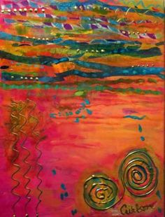 "Saatchi Art Artist Cheryl Wilson; Painting, ""Santa Fe 2"" #art"