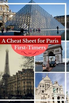 Travel Paris | If you're planning a trip to Paris, this cheat sheet has all your travel Paris basics + a Free downloadable cheat sheet to take on the go. #TravelEuropeCheatSheets