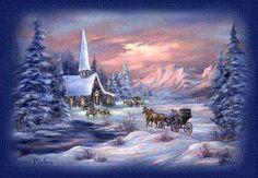 Old-Fashioned+Winter | Bilder » Winter Bilder