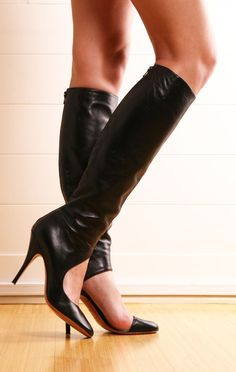 Black boots *Visit best shoes, boots & heels ♡ ** to be added just comment or follow the board!**