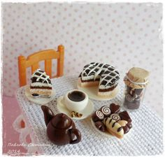 Миниатюра Кофейные сладости от Pavlysha на Etsy, €11.00