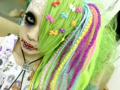 Backstage photo of METO of MEJIBRAY at their live event【MEJIBRAY ONEMAN「盲目の猫を殺した猛毒」】held at Hibiya Open-Air Concert Hall on Sept. 05th, 2015.