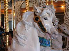 Looff Carrousel by TooFarNorth, via Flickr