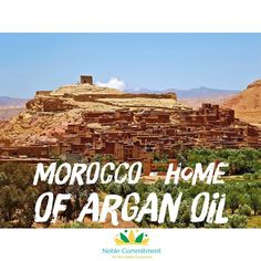 """What a great country! From Atlas mountains and their rivers and palms to the Atlantic ocean going through desert areas you'll love Morocco and its warm people. More than all these beautiful things Morocco is the home of the """"Golden Oil"""" the Argan Oil the fantastic essence of your healthy hair skin and nails.  Learn how to look younger with the Noble Argan Oil. Check the link in bioor ask us anything about it and we will be more than happy to help you! - #noble_commitment #morocco #moroccan…"""