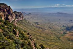 thor_mark  posted a photo:  Yes, that was pretty much the two thoughts that were on my mind when I finally hiked and made my way to the South Rim and took in these views. After so many miles and hours of hiking and mountainsides of the Chisos Mountains, I was a little on the tired side but quite excited to see you finally these views. This is looking to east across the Chihuahuan Desert in Big Bend National Park to the Sierra del Carmen mountains far off in Mexico. Looking closely one can…
