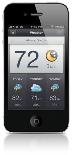 Shine - Real. Simple. Weather. Shine keeps it simple. Quickly discover what you need to know - nothing more. Readable, accurate, fast, and beautifully designed. Your daily weather app. #iOS $0.99