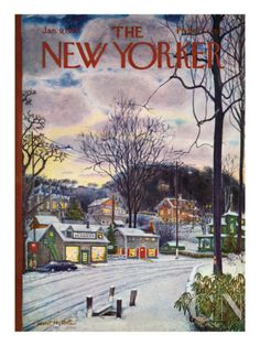 The New Yorker Cover - January 9, 1965 Premium Giclee Print