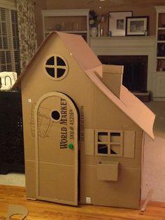 cabane en carton 2