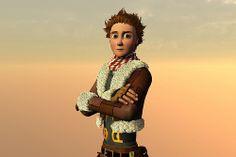 Azahar 3D #animación #3D #thelastflightofthewind #elultimovuelodelviento