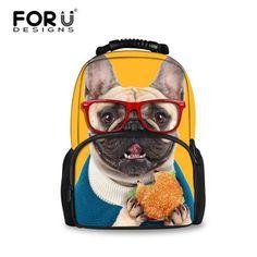 2016 Women Backpacks 3D Animal Jeans Kitty Cat Backpacks School Bagpack For Teenager Girls Ladies Travel Laptop Backpack Bags