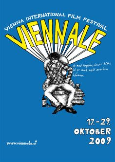 "Poster Design for an Austrian film festival called ""Viennale"". The poster shows people watching films from the film´s perspective."