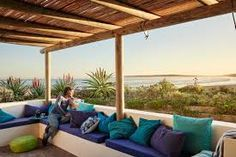 Zula Beach House and Cottage is a beautiful and secluded self-catering holiday home in Paternoster – one of the oldest fishing villages on the West Coast… Wedding Venues Beach, Roof Deck, Fishing Villages, Renting A House, Beach House, Pergola, Cottage, Outdoor Structures, Patio