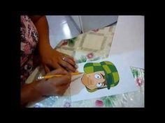 Como sacar moldes para hacer figuras de fomi o fieltro - YouTube