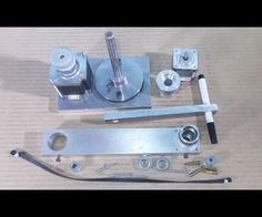 Homemade Scara Robot Arm DIY Robotic Frame Projects Chassis Aluminium Part 2